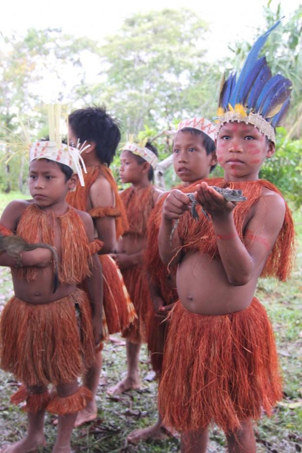 Yagua-Indianer (Libertad, Kolumbien)